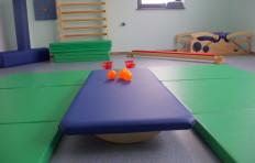 Sala do terapii  integracji sensorycznej Terapis Wspomaganie Rozwoju Dziecka w Poznaniu