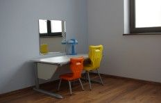 Sala do terapii pedagogicznej i terapii ręki Terapis Wspomaganie Rozwoju Dziecka w Poznaniu